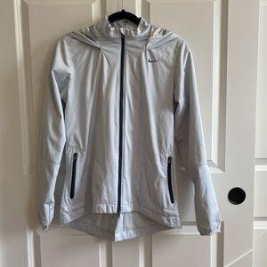 Nike Lightweight Women's Light Silver Jacket